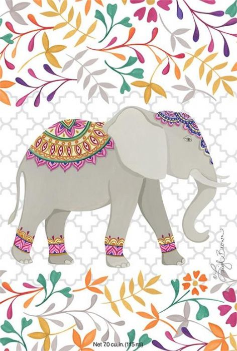 ELEPHANT - WILLOWBROOK SCENTED SACHET